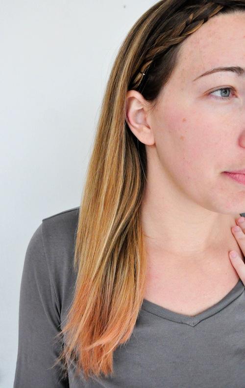 Pink Ombr Kool Aid Hair Dye Blog A La Cart