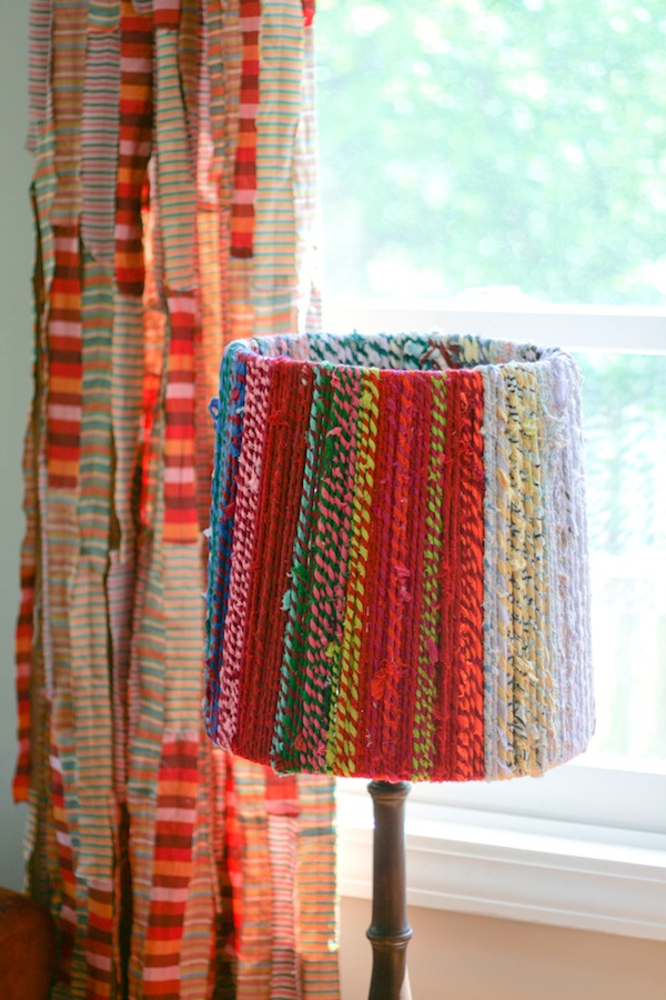 Rope Lampshade By Ashley Weeks Cart