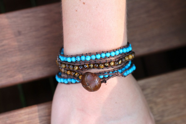 Beaded Wrap Bracelet Diy Blog A La Cart