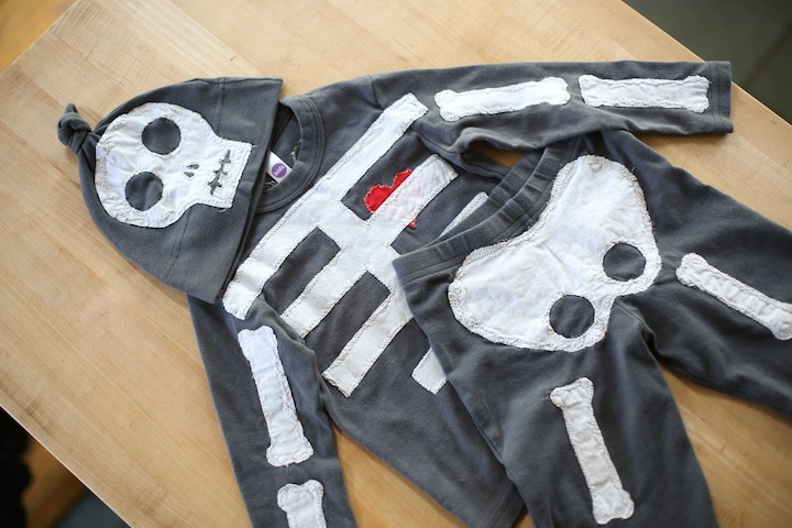 Skeleton Costume // diy & Skeleton Costume // diy : Blog a la Cart
