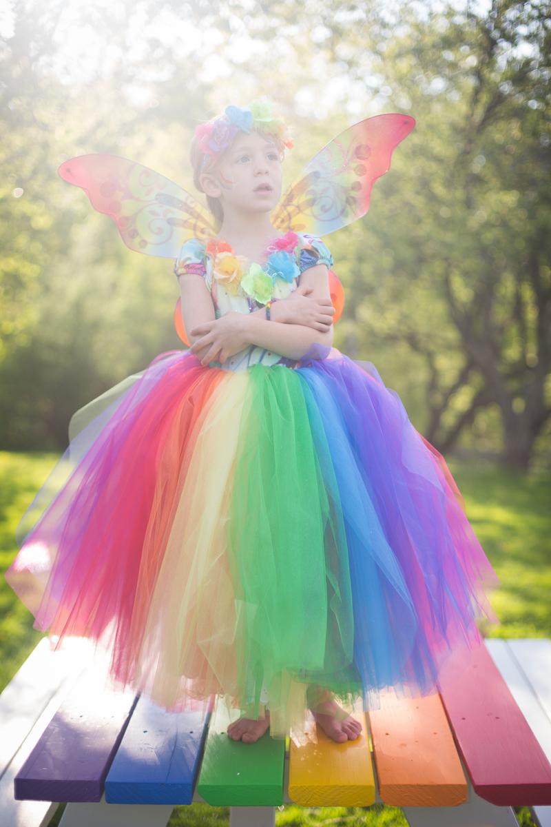 Rainbow Butterfly Flower Fairy : Blog a la Cart