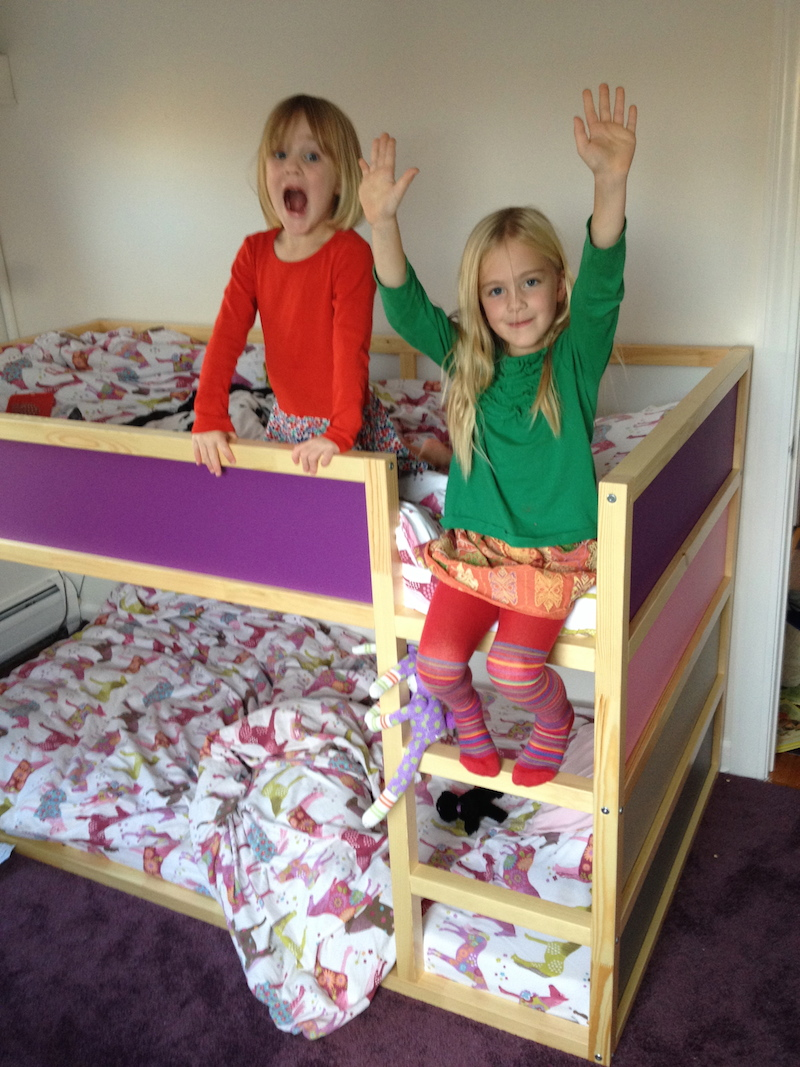 Ikea Kura Bed It May Have Taken Him Three Attempts To Get The Orientation Correct For The Bedroom But He Got There Eventually To Customize The Look